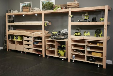 Smart and Comfortable Garage Organization for Your Small Room 34