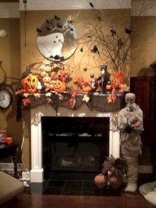 The Best Halloween Fireplace Decoration This Year 15