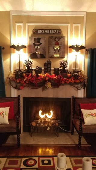 The Best Halloween Fireplace Decoration This Year 18