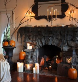 The Best Halloween Fireplace Decoration This Year 19