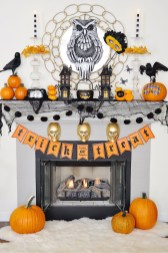 The Best Halloween Fireplace Decoration This Year 21