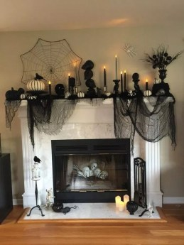 The Best Halloween Fireplace Decoration This Year 24