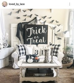The Most Interesting Family Room Arrangement on This Halloween 02