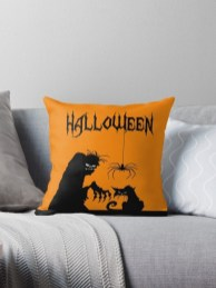 The Most Interesting Family Room Arrangement on This Halloween 11
