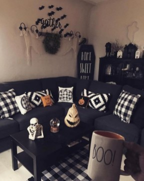 The Most Interesting Family Room Arrangement on This Halloween 16