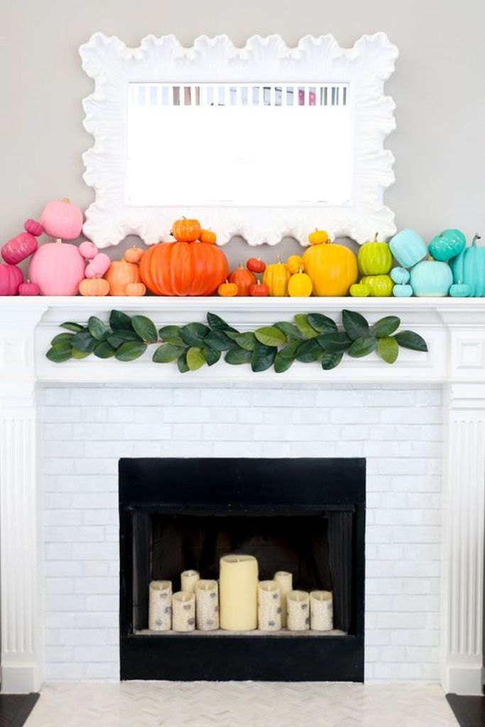 20 Affordable Halloween Mantel Decorating Ideas To Make Your