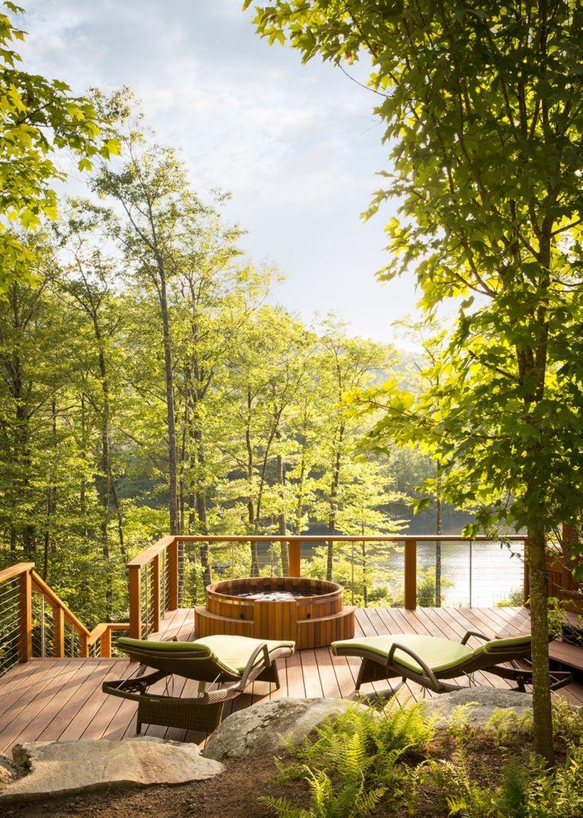 31 Awesome Backyard Hot Tub Design Ideas Anchordeco Com
