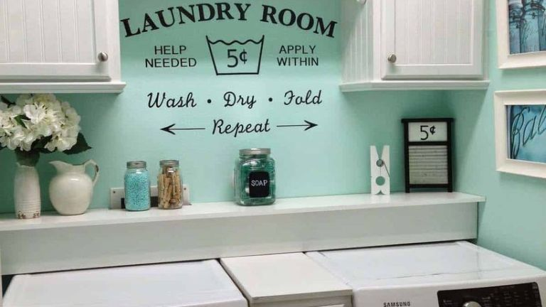 23 Laundry Room Design Ideas to Utilize Your Unused Small Space