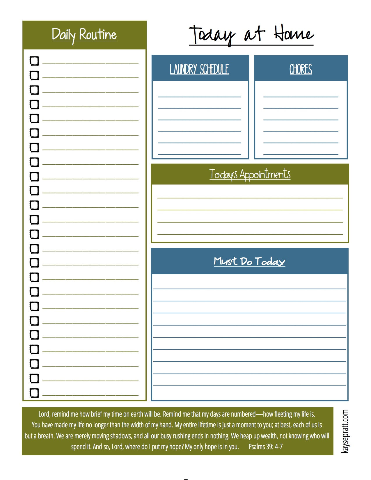 The Ultimate List Of Free Printables
