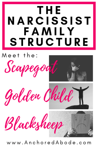 The Narcissist Family Structure: Scapegoat, Golden Child