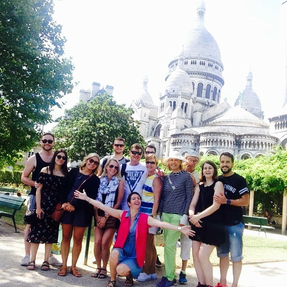 how to stay fit on vacation - walking tour - paris