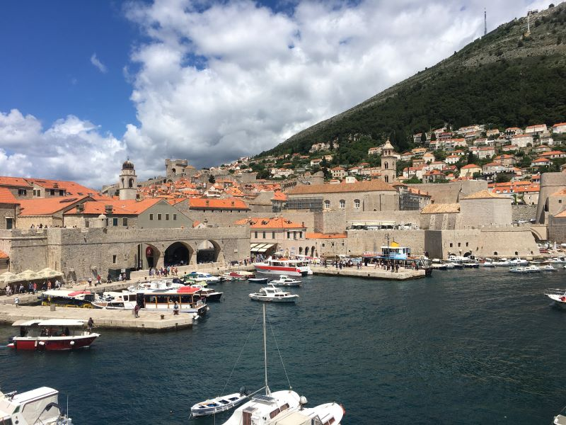 The Old Port in Dubrovnik