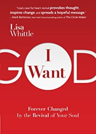 I want more God and less of me
