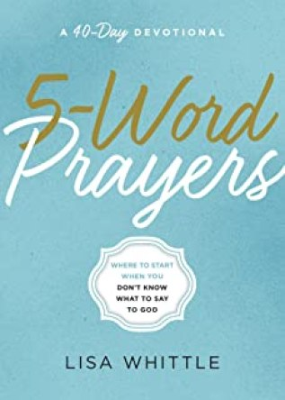 Where to start when you don't know what to say to God.