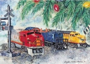 National Railroad Museum Holiday Card Center