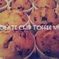 Perfect Sweetness: Chocolate Chip Toffee Muffins