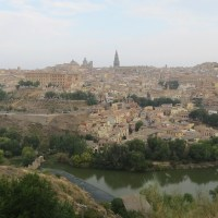 Finding Food and Parking in Toledo, Spain