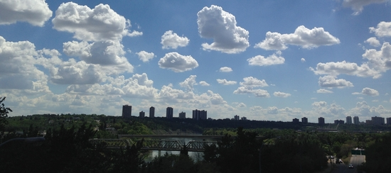 Edmonton's river valley is the largest continuous urban park in North America.