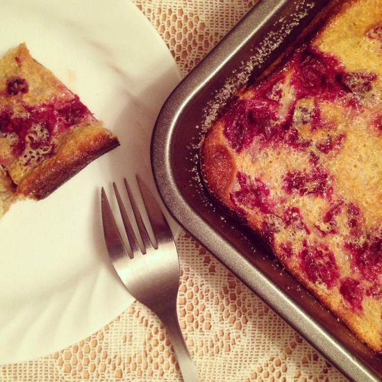 This easy Cherry Clafoutis recipe was passed on from Kathryn Joel of Get Cooking Edmonton.