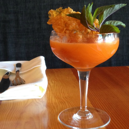 Victoria's Olo serves up a savoury summer sip: the What's up Doc?