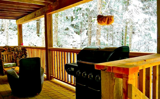 Glamping near the slopes: BC's best cabins