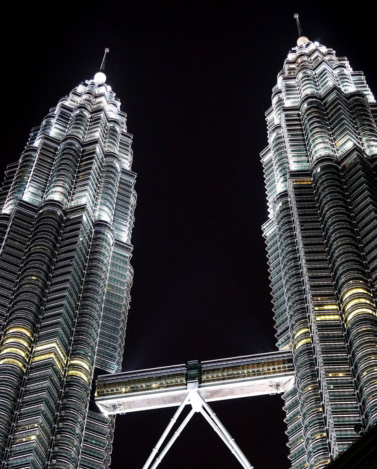 Kuala Lampur, Malaysia capital, home to the world's tallest twin towers and Durian, the King of Fruit