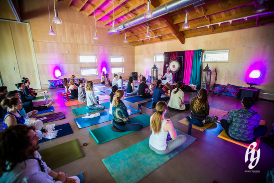 Yoga, meditation and music this weekend at Bloom Edmonton.