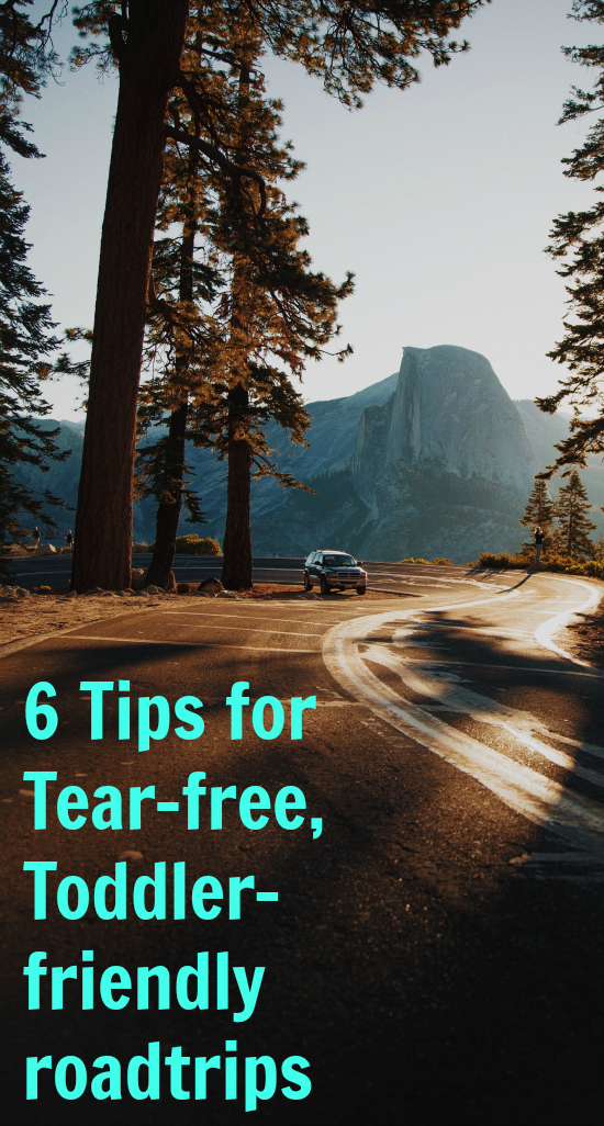 Try these 6 hacks for a tear-free, toddler-friendly road trip.