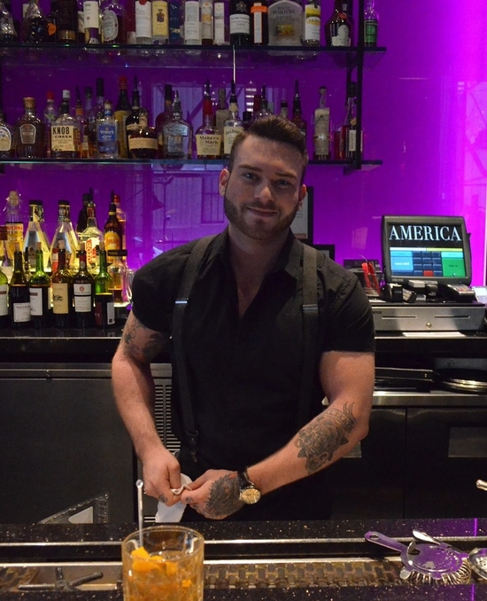 Will Publow of Toronto's Trump Hotel bar America.