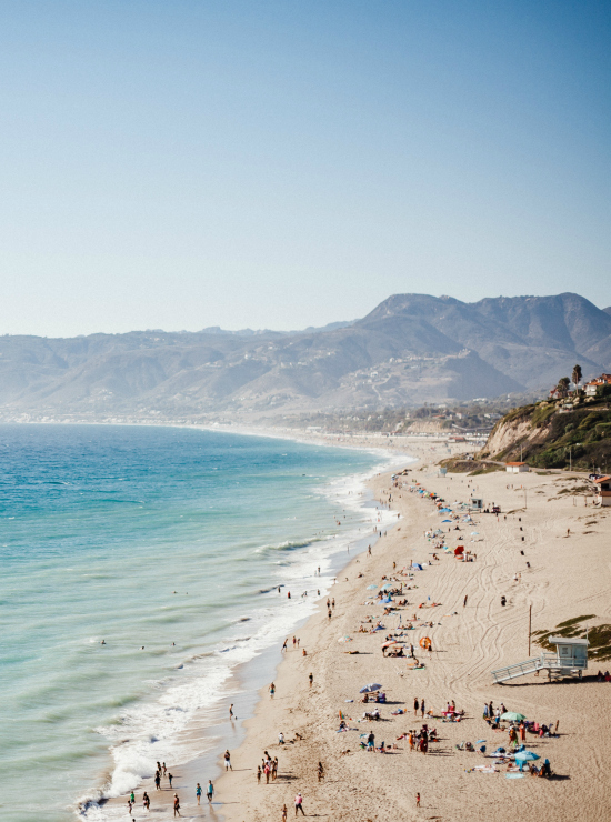 Malibu: 1/5 Must stop cities on the California Coast