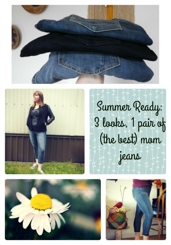 Mom Jeans: 4 way stretch, 3 outfits
