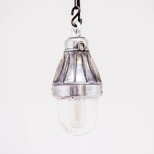 Ceiling lamp with vanes anciellitude