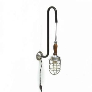 Portable lamp - swan neck version (large) anciellitude
