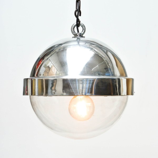 Suspension Boule Aluminium anciellitude