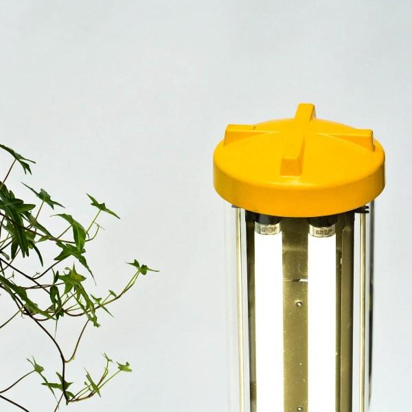 Fluo anti-déflagration restauré (à poser) anciellitude