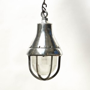 American ceiling Lamp in Polished Aluminium anciellitude