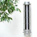 Fluo en fonte d'aluminium grillagé (applique) anciellitude