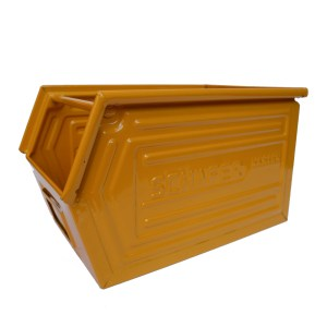 "Coloured Metallic Crates – ""Yellow""anciellitude"