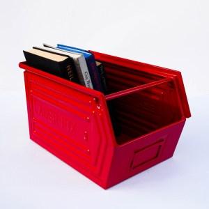"Coloured Metallic Crates – ""Deep Red""  anciellitude"