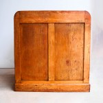 Small Old Craft Furniture with Sliding curtain anciellitude