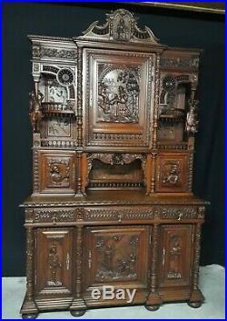 ancienne bois sculpte