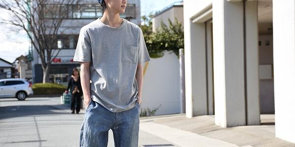 FLAMANDのシンプルなTシャツを好みのシルエットで楽しむ-FLAMAND TEE-