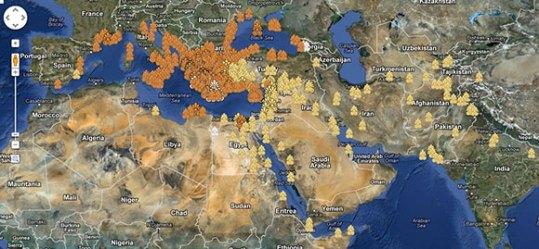 ancient greece map maps modern fictional generator google places greek resolution mythology platform από αποθηκεύτηκε