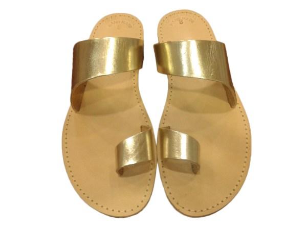 greek handmade leather sandals 42