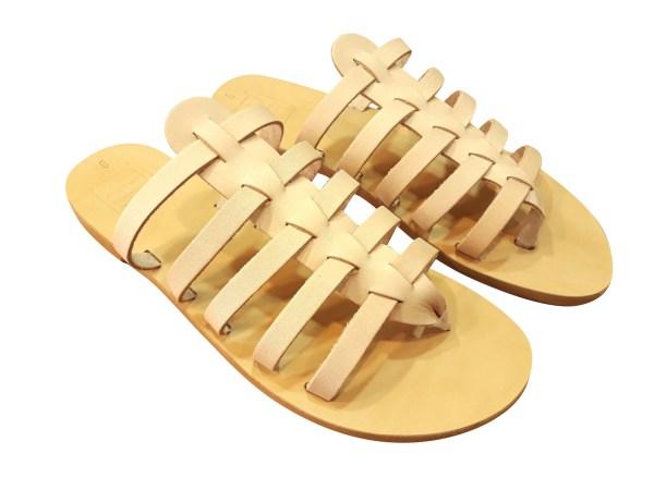 greek handmade leather sandals 334