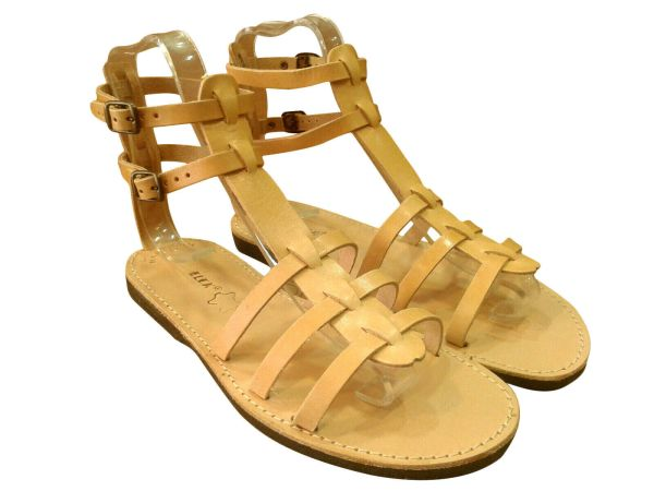 greek handmade leather sandals 91