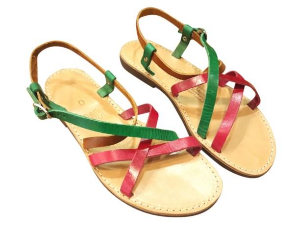 greek handmade leather sandals 344 1