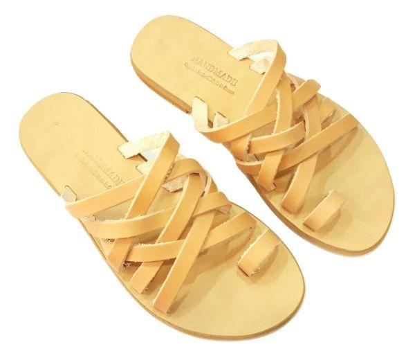 greek handmade leather sandals 442 1