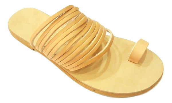greek handmade leather sandals 444