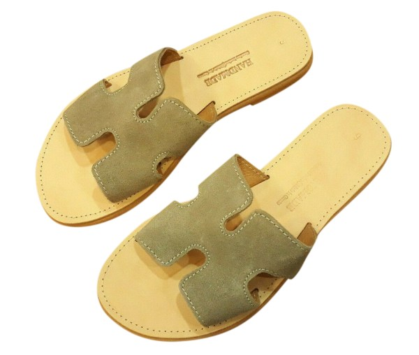 greek handmade leather sandals 529